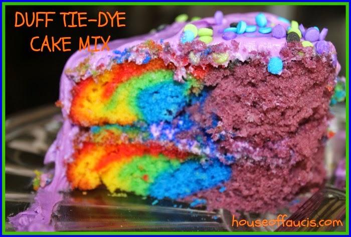 Duff Tie Dye Cake Mix Review
