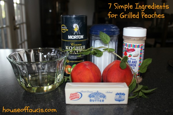 7 Simple Ingredients for Grilled Peaches