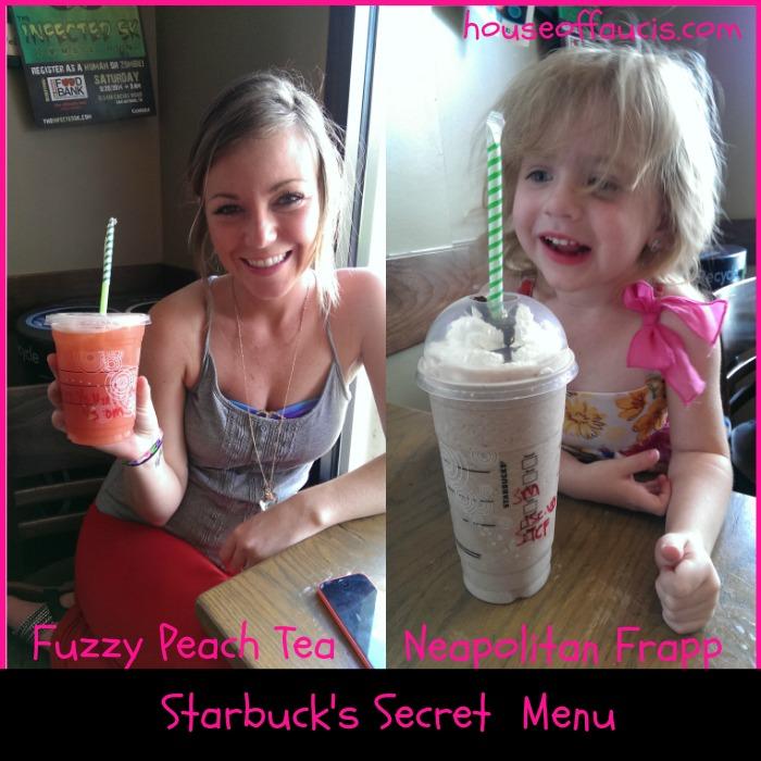 Starbucks Fuzzy Peach Tea