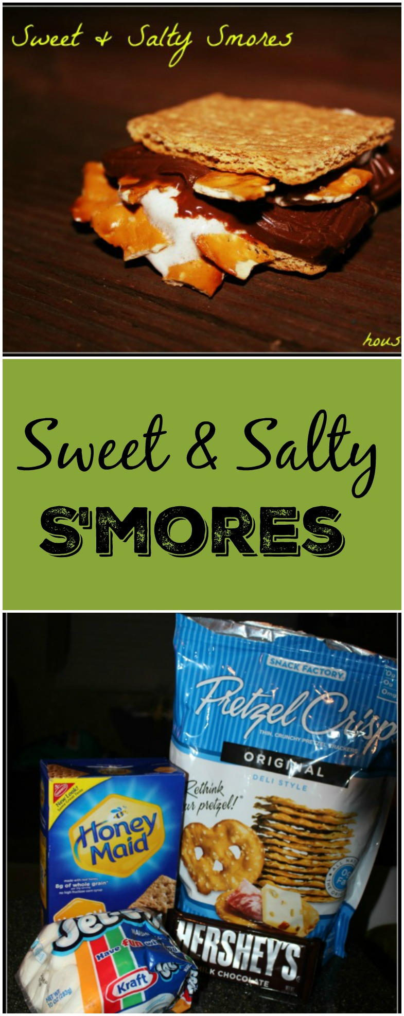 Sweet & Salty Smores Perfect for Adding a Pazazz to the Plain Smores