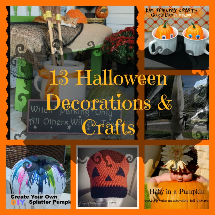 13 Halloween Decorations and Crafts