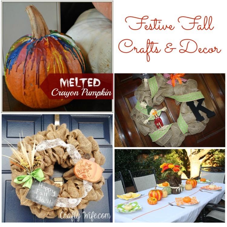 Festive Fall Crafts and Decor