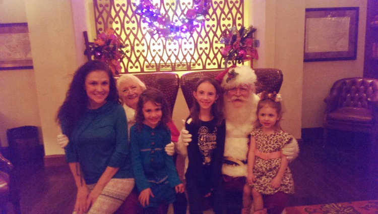 JW Marriott Santa Visit