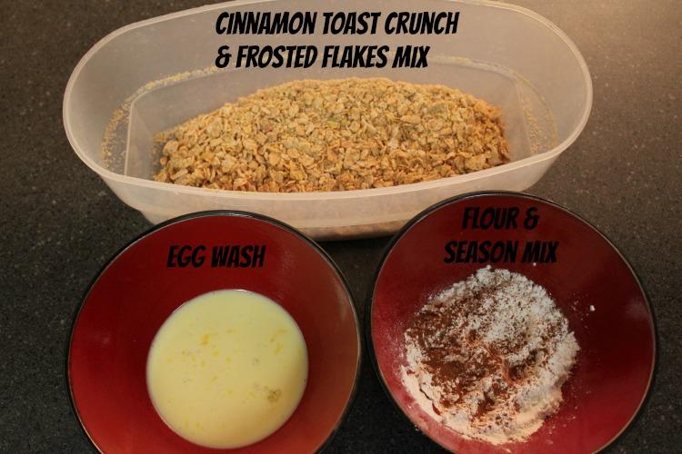 Cinnamon Toast Crunch Chicken Mix
