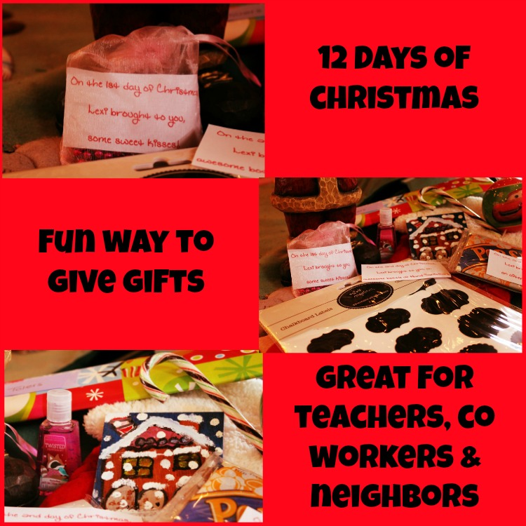 Gift Ideas For The 12 Days Of Christmas: 12 Days Of Christmas