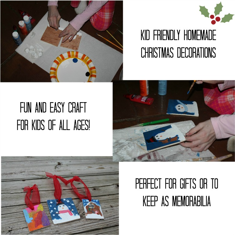 Kid Friendly Homemade Decorations