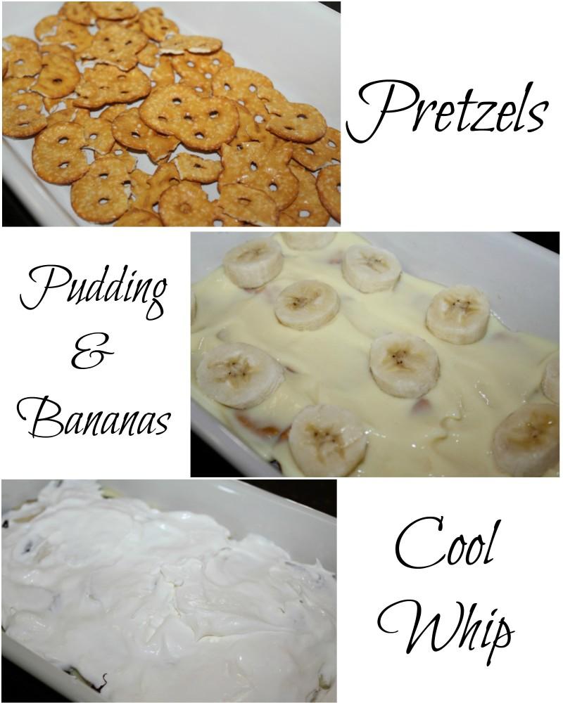 Banana Pudding Crunch Steps