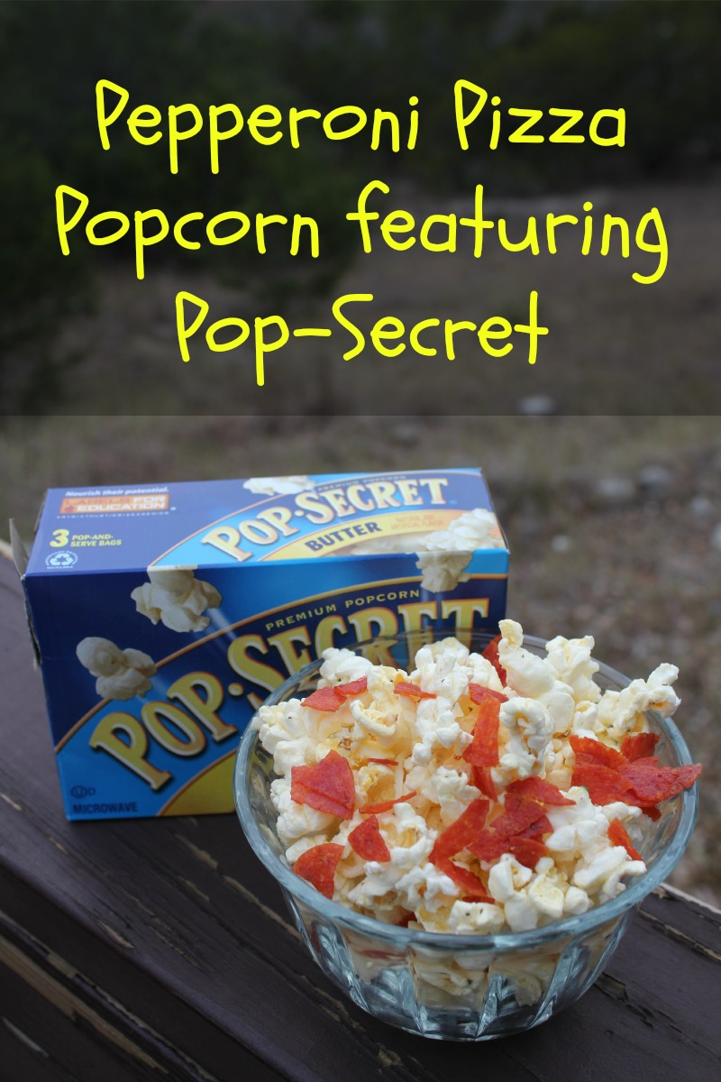 Pepperoni Pizza Popcorn