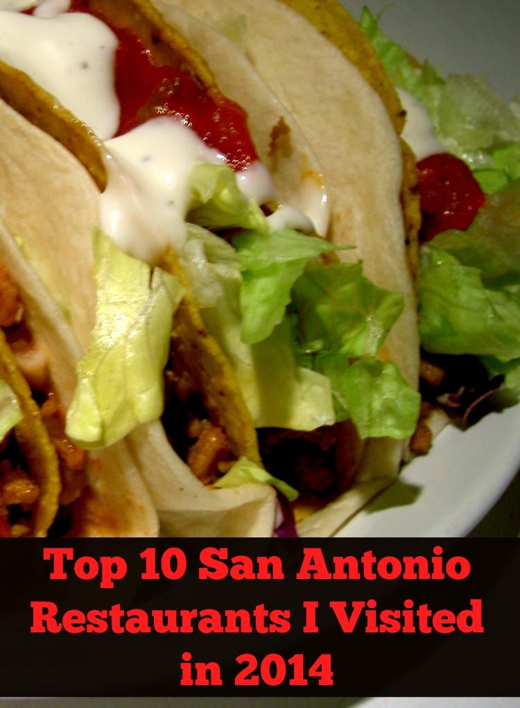 Top 10 San Antonio Restaurants in 2014