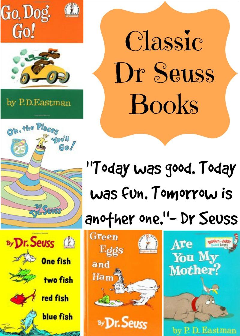Classic Dr Seuss Books