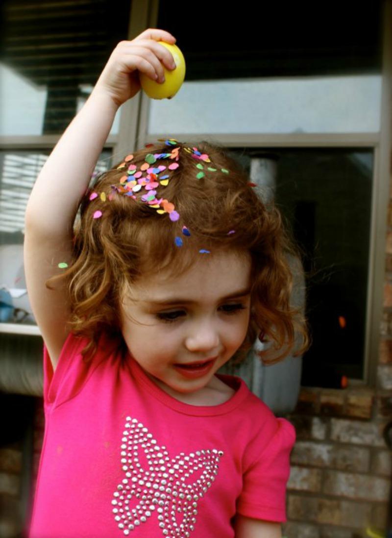 Confetti Egg Fun