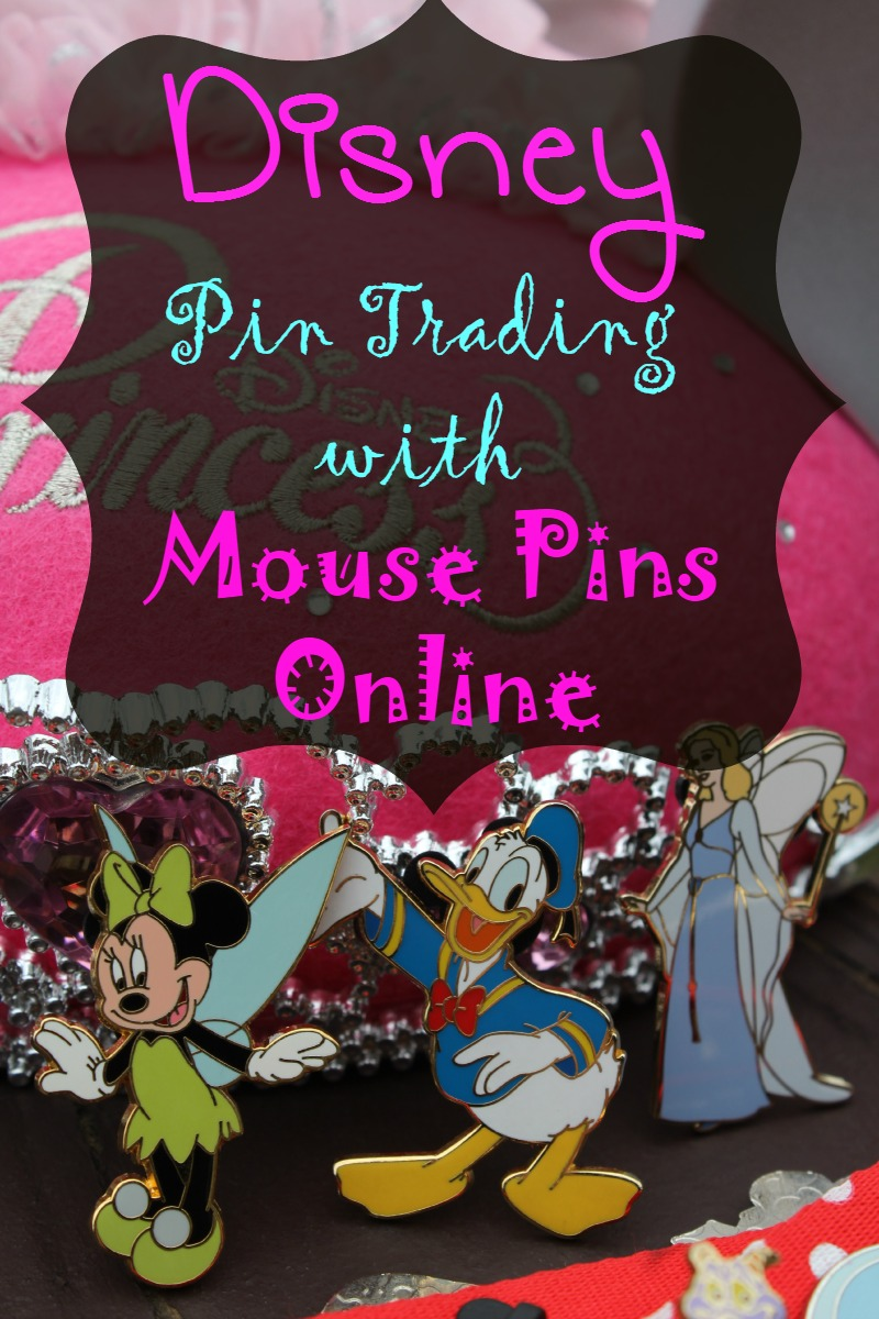 Disney Pin Trading with Mouse Pins Online