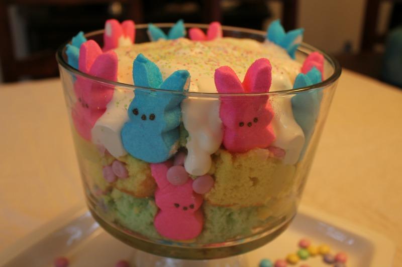Peep Springtastic Trifle