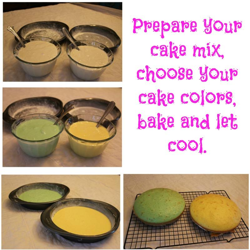 Prepare your cake