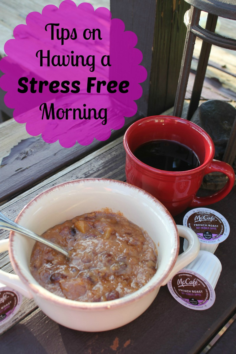 Tips on a Stress Free Morning