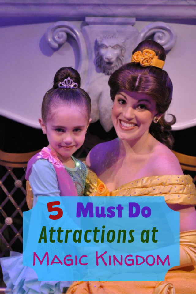 Everything about the Magic Kingdom is amazing but there are 5 must do attractions at Magic Kingdom that you must do before you have to leave to go back to your castle.