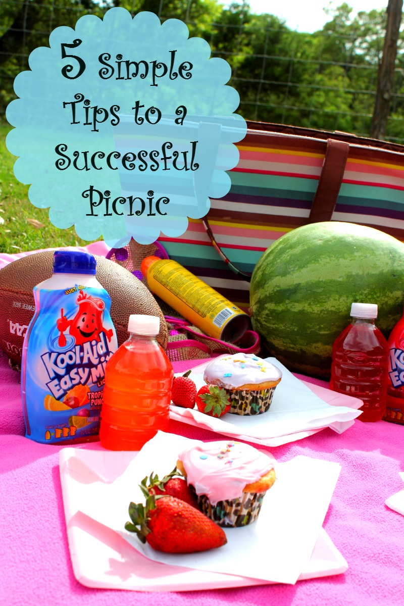 5 Simple Tips to a Successful Picnic