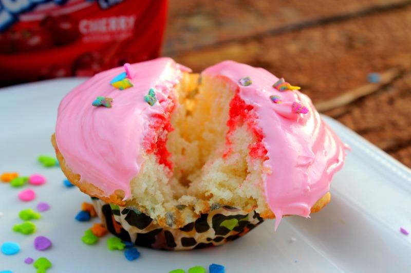 Poke Cupcakes