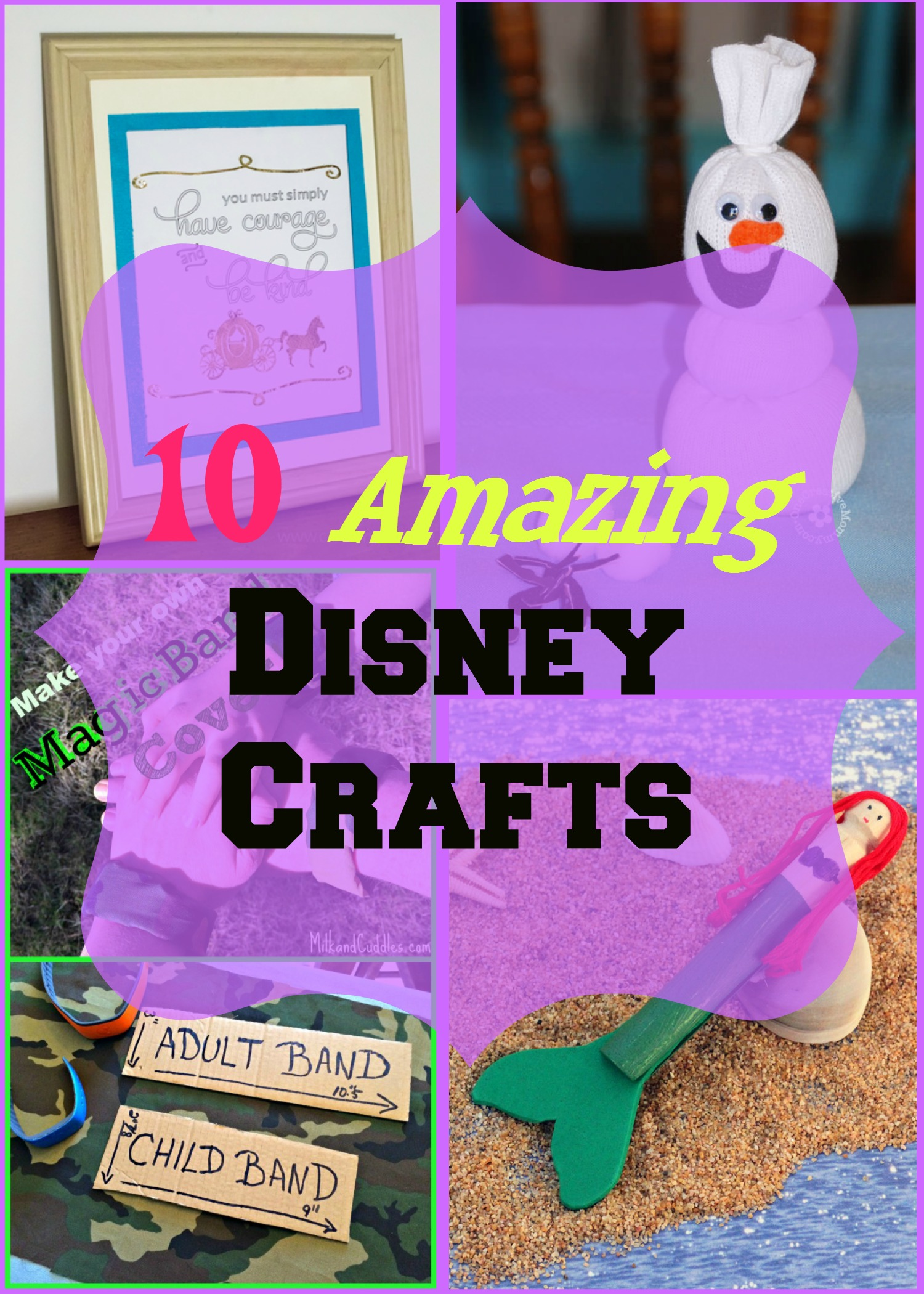 10 Amazing Disney Crafts