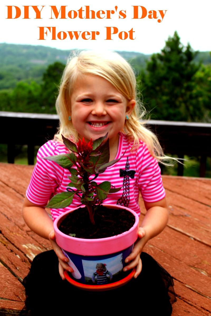 DIY Mother's Day Flower Pot