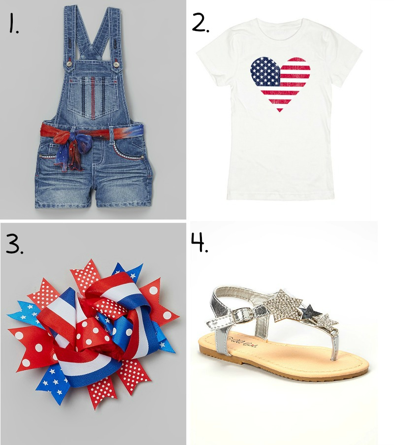 Girl 4th of July Zulily