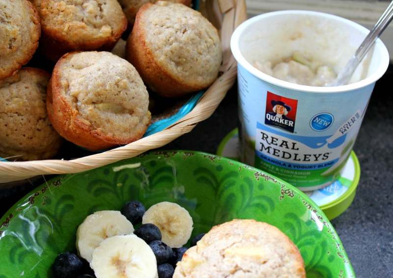 Breakfast with Quaker Real Medleys