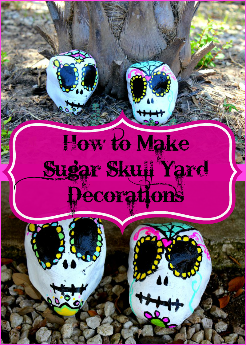 How to Make Sugar Skull Yard Decorations