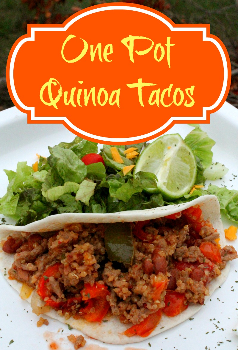 One Pot Quinoa Tacos