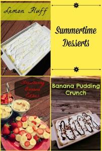 Summertime Desserts