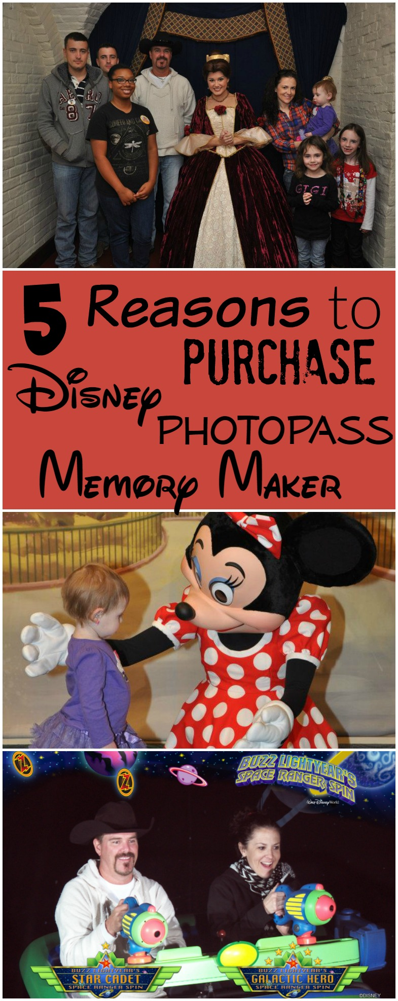 5 Reasons to Purchase the Disney PhotoPass Memory Maker