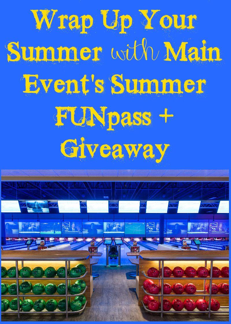 Main Events Summer Funpass