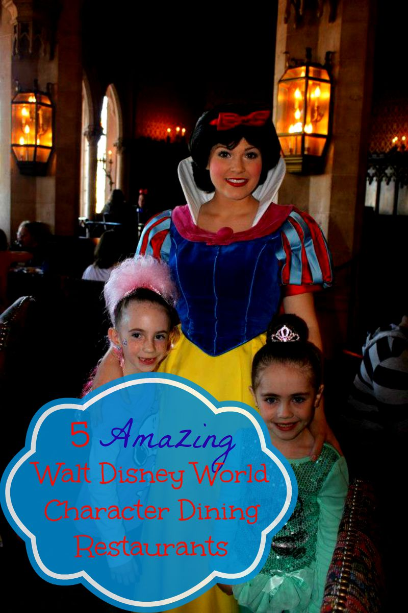 Amazing Walt Disney World Character Dining Restaurants