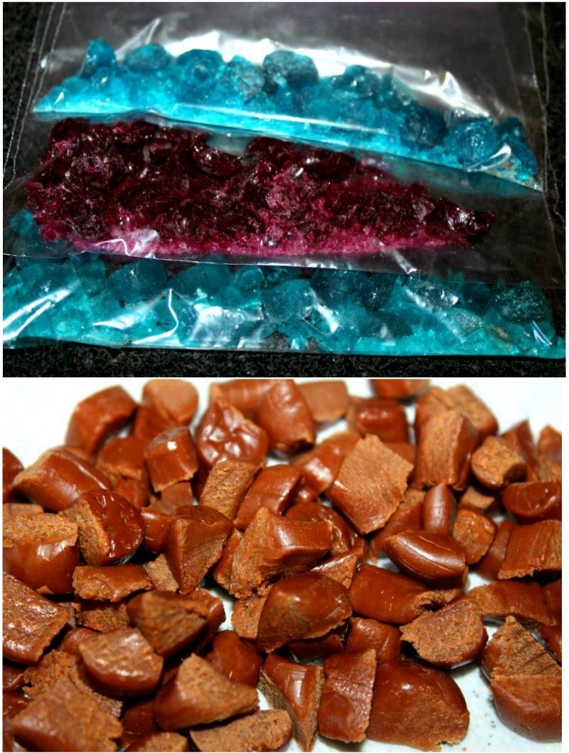 Crushed Candies