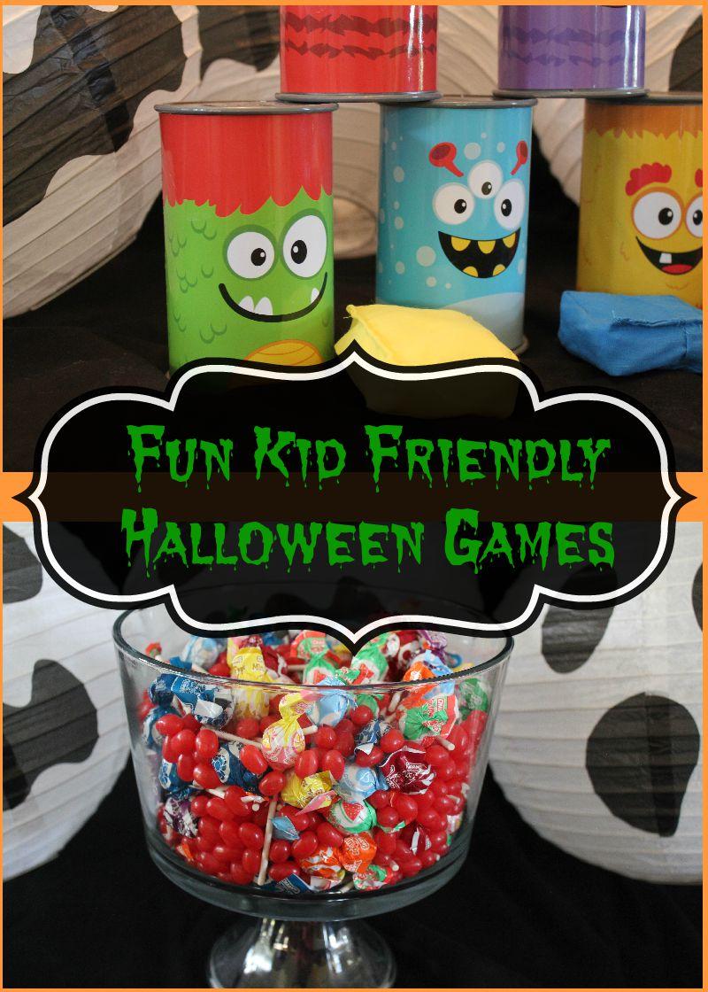 fun kid friendly halloween games