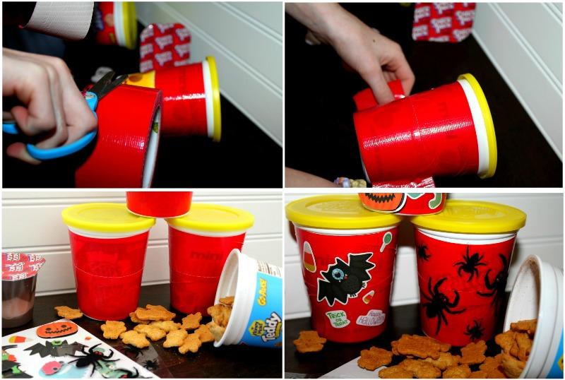 DIY GO PAKS Halloween Cup