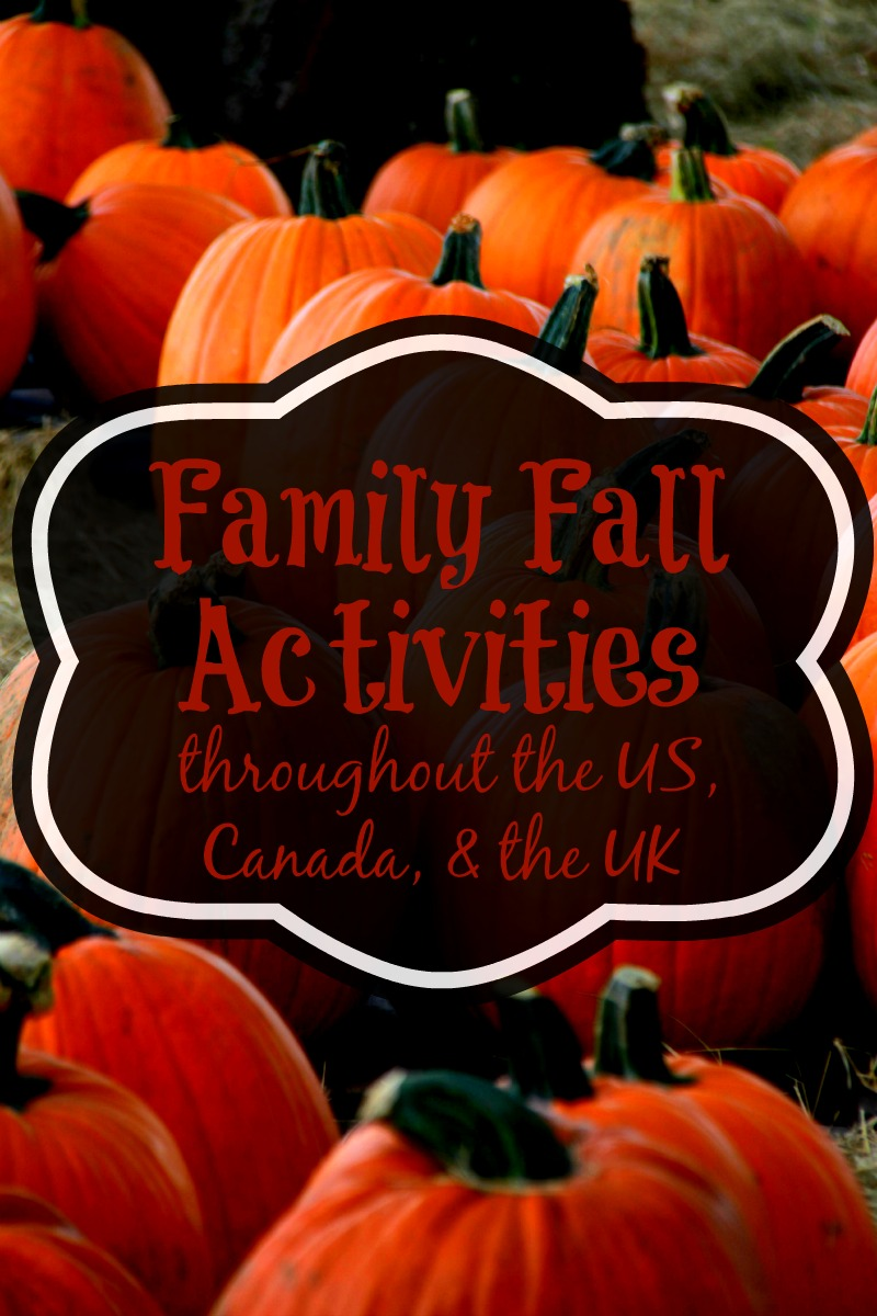 Family Fall Activities