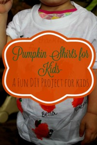 Pumpkin Shirts for Kids