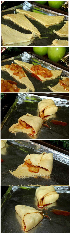 How to Fold a Mini Apple Pie
