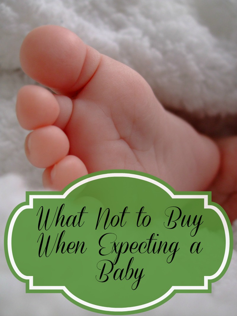 What Not to Buy When Expecting a Baby