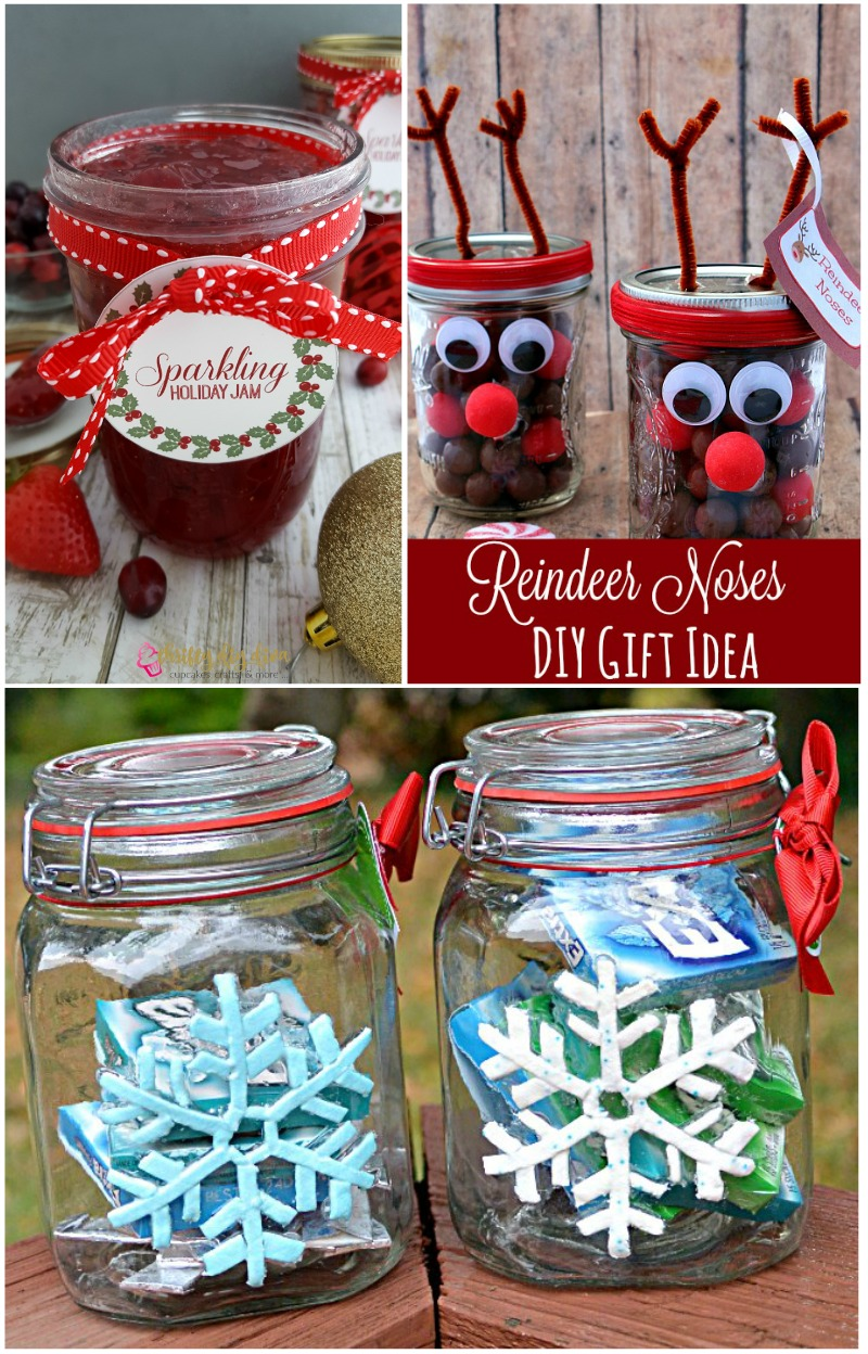 Holiday Inspired Mason Jars - House of Fauci's