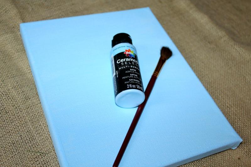 Paint Canvas Blue
