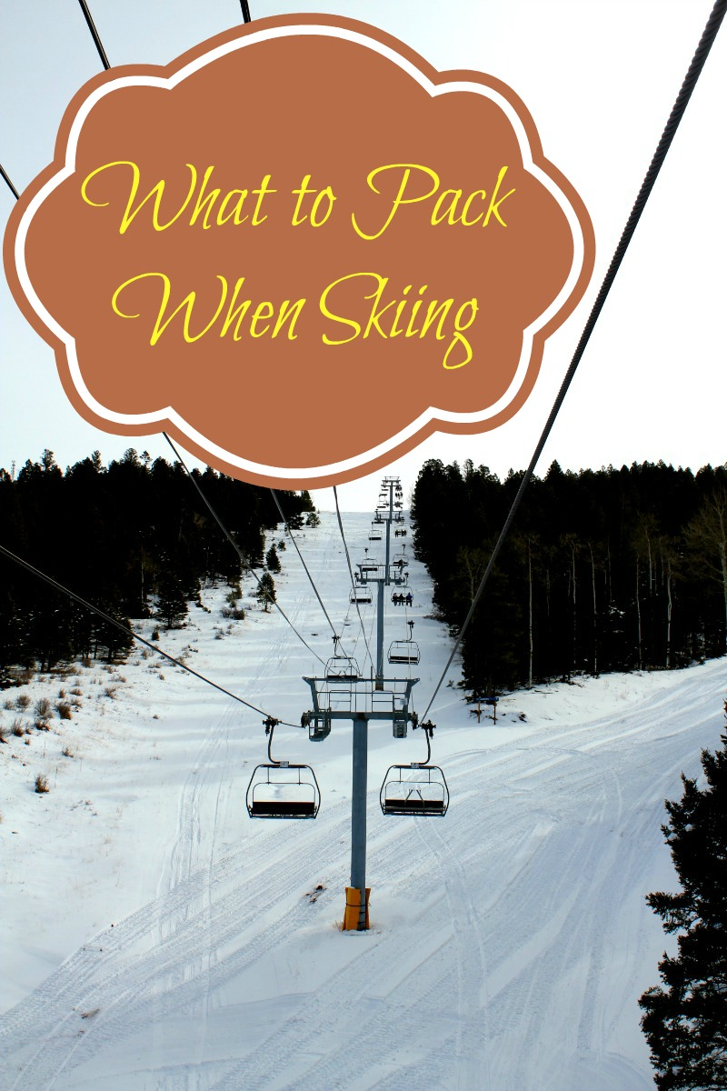 What to Pack When Skiing