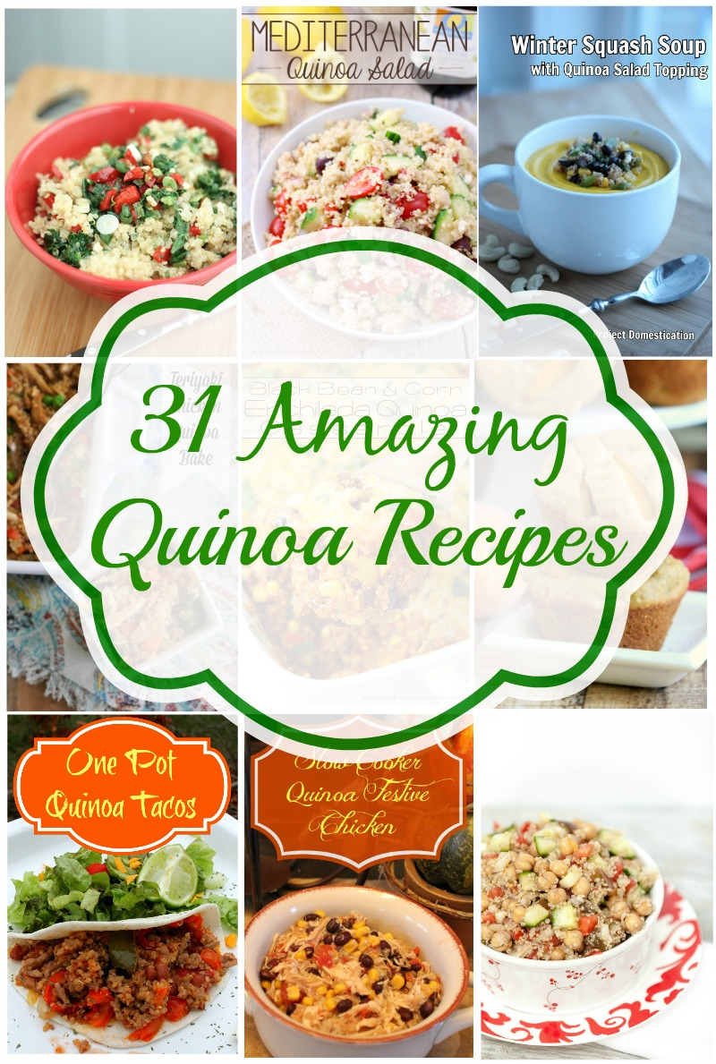 31 Amazing Quinoa Recipes