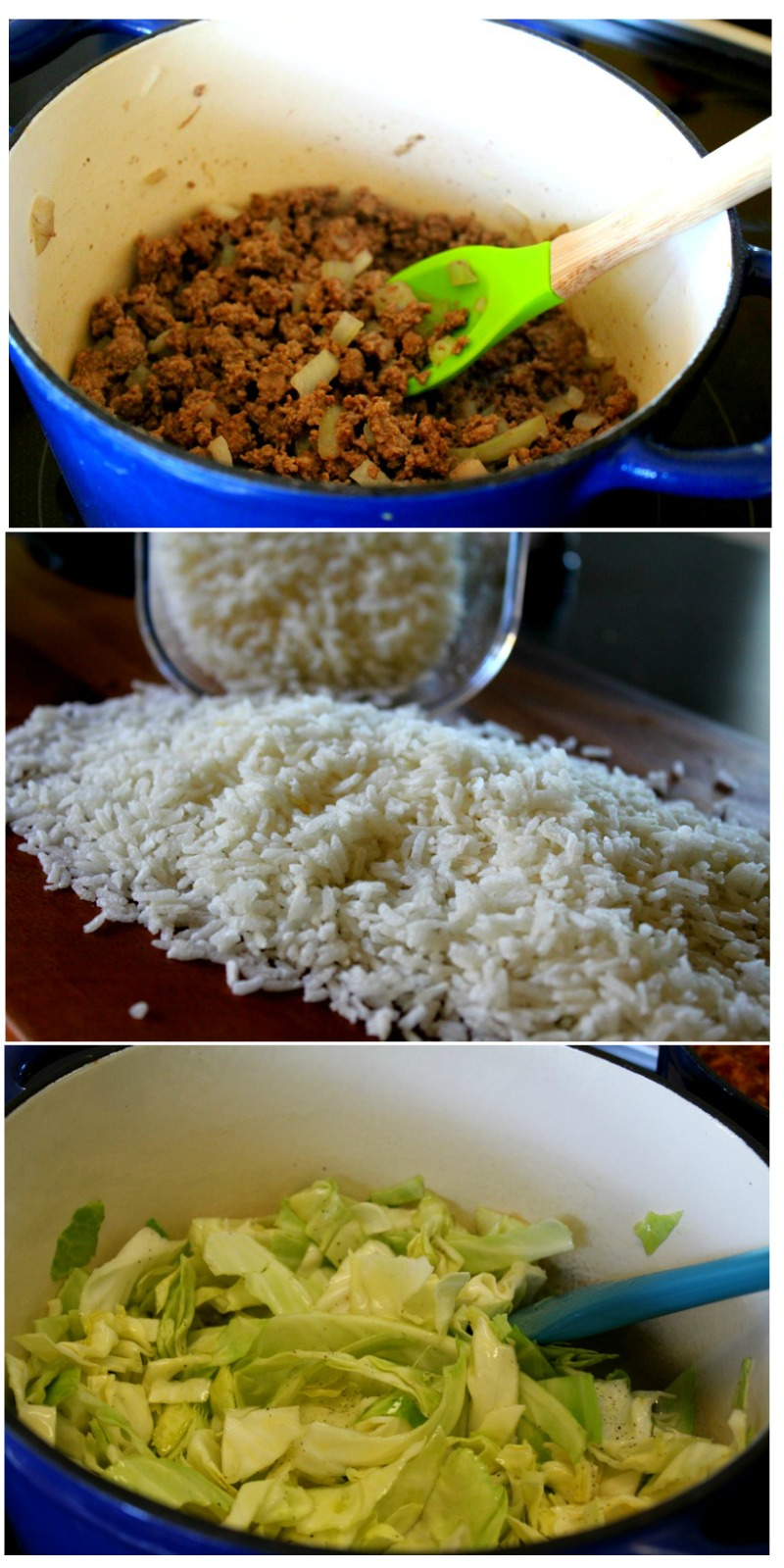 Beef Rice Cabbage