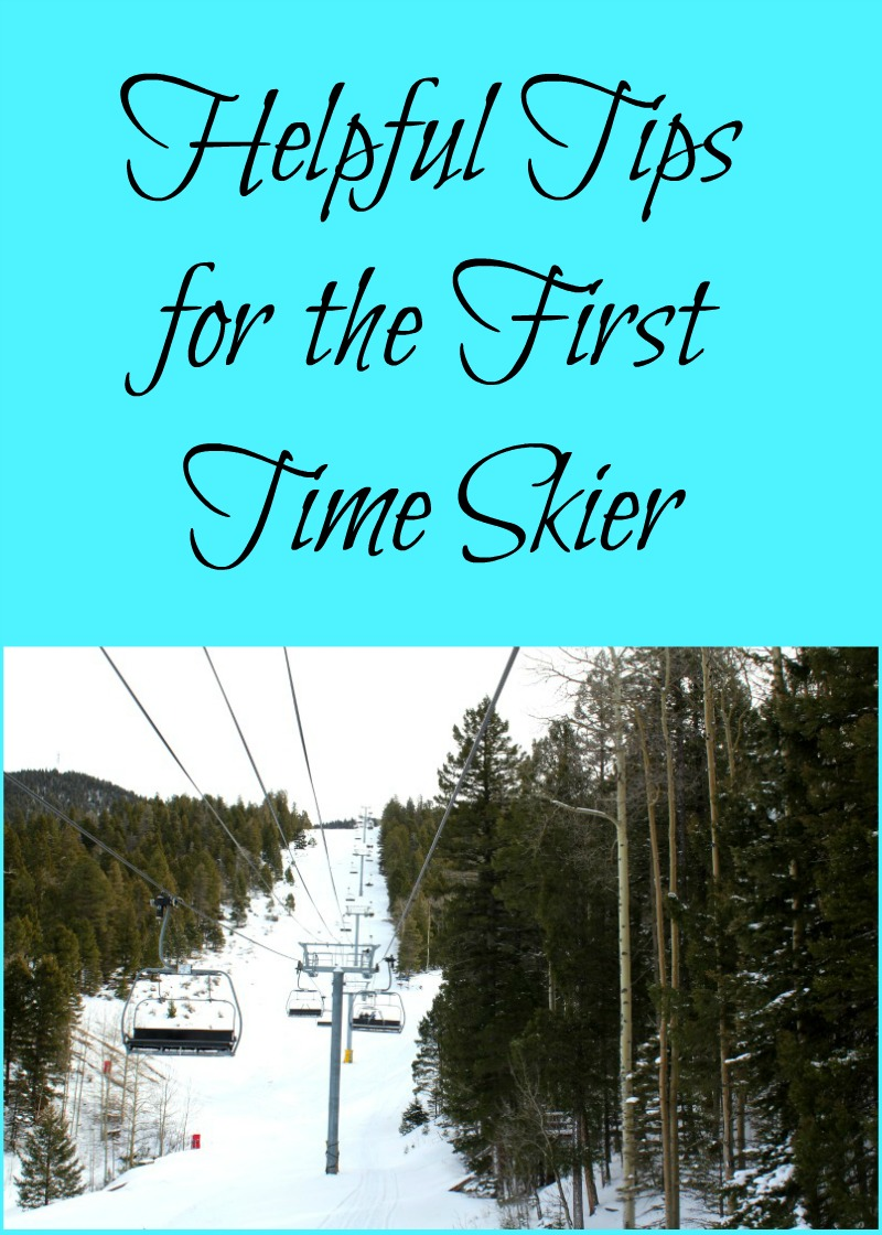 Helpful Tips for the First Time Skier