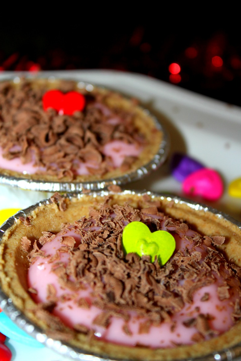 Strawberry Valentine Pies