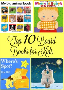 Top 10 Board Books for Kids