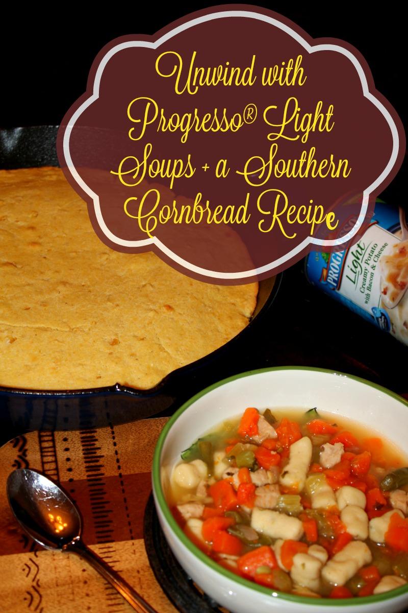 Unwind with Progresso Light Soups