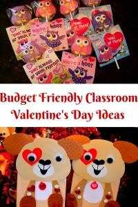 Budget Friendly Classroom Valentine's Day Ideas