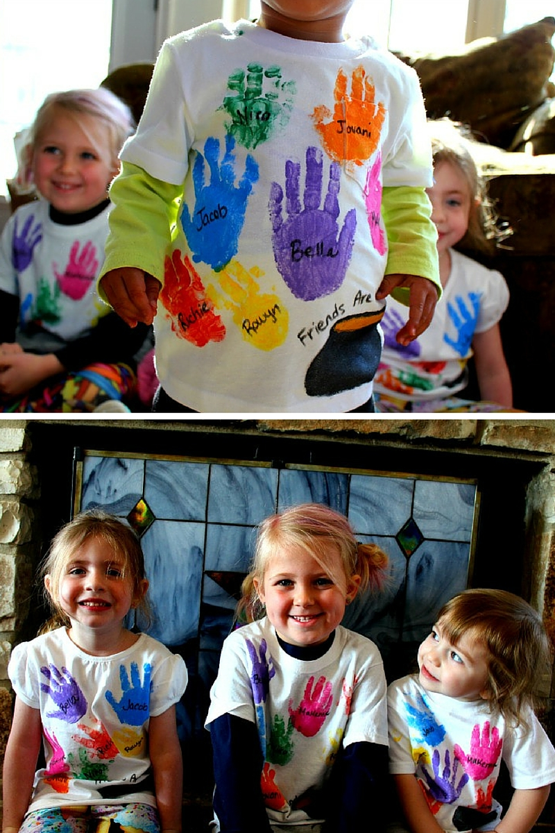 DIY Rainbow Shirts